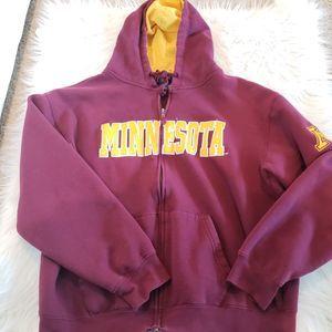 University of Minnesota Zip up Hood Jacket